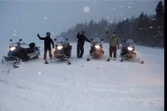 Tylicz Atrakcja Skutery śnieżne Skutery śnieżne w Krynicy-Zdrój