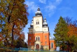 Krynica-Zdrój Atrakcja Zabytek Cerkiew Greckokatolicka p.w. Świętych Apostołów Piotra i Pawła