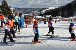 Rytro Atrakcja Przedszkole narciarskie Rogasiowe Przedszkole