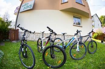 Krynica-Zdrój Atrakcja Wypożyczalnia rowerów Willa Zdrój