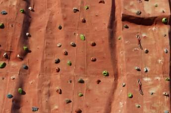 Krynica-Zdrój Atrakcja Ścianka wspinaczkowa Krynicki Park Linowy