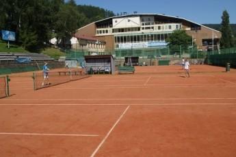 Krynica-Zdrój Atrakcja Tenis MOSiR Krynica