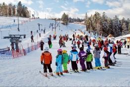 Krynica-Zdrój Atrakcja Stacja narciarska Henryk Ski