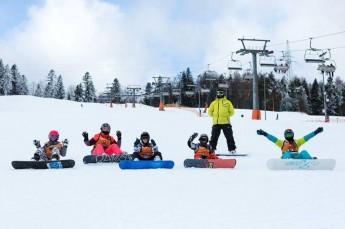 Krynica-Zdrój Atrakcja Szkoła snowboardowa SnowWeek