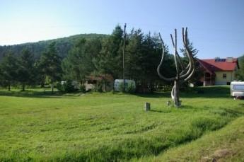 Muszyna Nocleg Pole namiotowe Rumcajsówka