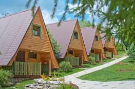 Tylicz Nocleg Domek Osada Turystyczna Domki w Lesie