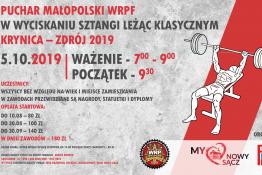 Krynica-Zdrój Wydarzenie Imprezy Sportowe I Puchar Małopolski w wyciskaniu sztangi leżąc