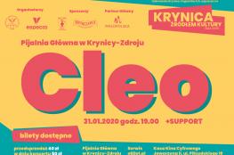 Krynica-Zdrój Wydarzenie Koncert Krynica Źródłem Kultury 2020 - Cleo