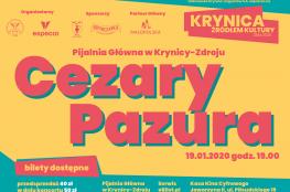 Krynica-Zdrój Wydarzenie Kabaret Krynica Żródłem Kultury 2020 - Cezary Pazura