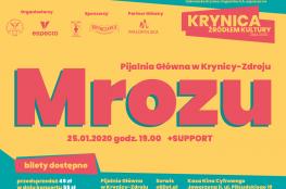 Krynica-Zdrój Wydarzenie Koncert Krynica Żródłem Kultury 2020 - Mrozu