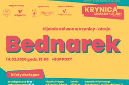 Krynica-Zdrój Wydarzenie Koncert Krynica Źródłem Kultury 2020 - Bednarek