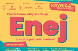 Krynica-Zdrój Wydarzenie Koncert Krynica Źródłem Kultury 2020 - Enej