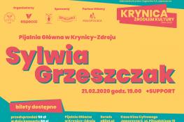 Krynica-Zdrój Wydarzenie Koncert Krynica Źródłem Kultury 2020 - Sylwia Grzeszczak