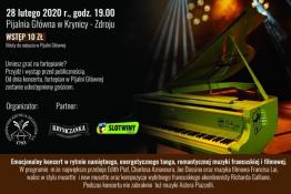 Krynica-Zdrój, Pijalnia Główna Wydarzenie Kulturalne Koncert na inaugurację fortepianu