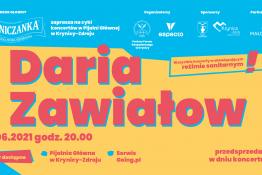 Krynica-Zdrój Wydarzenie Koncert KŹK 2021 :: Daria Zawiałow