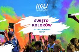 Krynica-Zdrój Wydarzenie Festiwal Holi Festiwal na Górze Parkowej