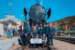 Krynica-Zdrój Wydarzenie Rozrywka Wakacyjny pociąg retro do Krynicy Doliną Popradu